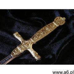 Płatnerze hiszpańscy Miniaturka paradny miecz napoleoński z 1809r replika broni (04) - ogłoszenia A6.pl