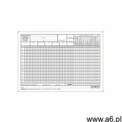 Firma krajewski Roczna karta ewidencji obecności w pracy a5 [pu/os-227] - ogłoszenia A6.pl
