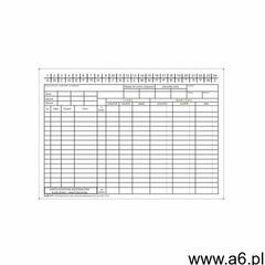 Firma krajewski Karta kontowa materiałowa ilość-wartość a5 [pu/k-311] - ogłoszenia A6.pl