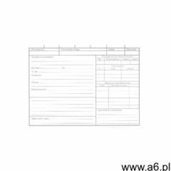 Karta kontowa środka trwałego A5 [Pu/K-281] - ogłoszenia A6.pl