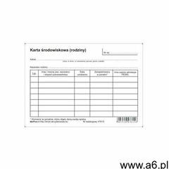 Karta środowiskowa rodziny [Mz/Pom-3] - ogłoszenia A6.pl