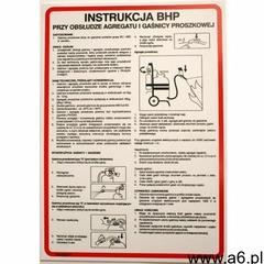 Instrukcja BHP przy obsłudze agregatu i gaśnicy proszkowej, 422_xo_25 - ogłoszenia A6.pl