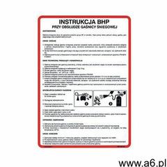 Instrukcja BHP przy obsłudze gaśnicy śniegowej - ogłoszenia A6.pl