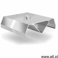 Xxlselect Okap centralny trapezowy   szer: 1000 - 5000mm   gł: 2000mm - ogłoszenia A6.pl