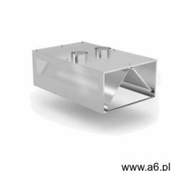 Okap przyścienny kompensacyjny   szer: 1200 - 5000mm   gł: 1200mm - ogłoszenia A6.pl