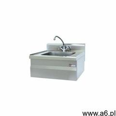 Umywalka z mieszaczem wody i syfonem | 400x400x(h)200mm | 14 kg - ogłoszenia A6.pl