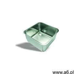 Komora zlewowa do wspawania | kwasoodporna | tłoczona na zimno-matowo | różne wymiary - ogłoszenia A6.pl