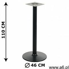 Podstawa stolika NY-B006, wysokość 110 cm, czarna (5903917401630) - ogłoszenia A6.pl