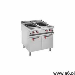 Urządzenie do gotowania makaronu 2x 40l z szafką | gazowe | 800x900x(h)850/920mm marki Diamond - ogłoszenia A6.pl