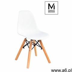 Modesto design Modesto krzesło junior dsw białe - polipropylen, podstawa bukowa - ogłoszenia A6.pl