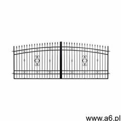 Brama dwuskrzydłowa VERONA 408 x 160 cm z automatem POLBRAM (5901891476569) - ogłoszenia A6.pl
