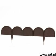 Prosperplast Palisada ogrodowa obrzeże 10m x 9cm garden line ciemny brąz ikra / iikrabr / - zyskaj r - ogłoszenia A6.pl
