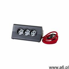 Legrand Przedłużacz biurkowy 16 a 230v + 2 x usb 2.4 a z uchwytem na tablet czarno-czerwony (341 - ogłoszenia A6.pl