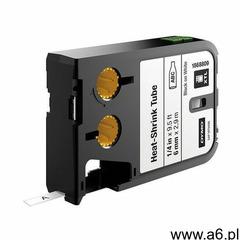 Dymo Taśma xtl 2,7m rurki termokurczliwej ciągłej (6 mm) na kabel o Ǿ min. 1.18mm – max. 3.8 mm, cza - ogłoszenia A6.pl