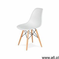 MODESTO krzesło DSW białe - podstawa bukowa (5900168801509) - ogłoszenia A6.pl