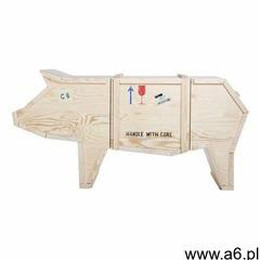 Szafka świnia - drewno sklejka marki King home - ogłoszenia A6.pl