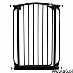 Bramka wysoka 1m rozporowa 71-82cm, - czarny marki Dreambaby - ogłoszenia A6.pl