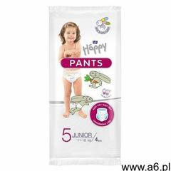 Pieluchomajtki dla dzieci happy pants junior 11-18 kg 1 szt. folia | darmowa dostawa od 59 zł marki  - ogłoszenia A6.pl