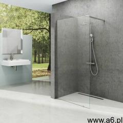 ścianka wolnostojąca walk in wall 110/200 h polerowane aluminium + transparent gw9wd0c00z1 marki - ogłoszenia A6.pl