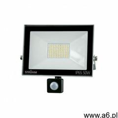 Naświetlacz LED z czujnikiem ruchu KROMA LED S 50W GREY 6500K IP65 IDEUS 7079 - ogłoszenia A6.pl