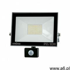 Naświetlacz LED z czujnikiem ruchu KROMA LED S 100W GREY 4500K IP65 IDEUS 6089 - ogłoszenia A6.pl