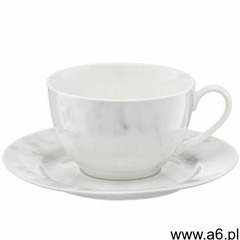 Komplet kawowy Marble 250 ml 12-elementowy AMBITION (5904134291875) - ogłoszenia A6.pl