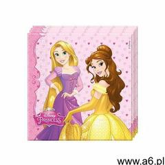 Procos disney Serwetki urodzinowe princess - księżniczka - 33 cm - 20 szt. - ogłoszenia A6.pl