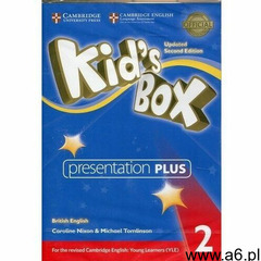 Kid's Box 2 Presentation Plus (Płyta DVD) - ogłoszenia A6.pl