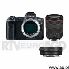 Canon eos r + ef-rf adapter + rf 24-105mm f/4l is usm - ogłoszenia A6.pl