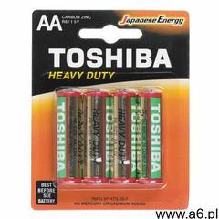 Baterie cynkowo-węglowe Toshiba R6KG BP-4TG SS-F- Zamów do 16:00, wysyłka kurierem tego samego dnia! - ogłoszenia A6.pl