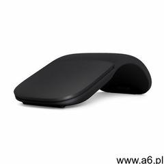 Mysz bezprzewodowa MICROSOFT Arc Mouse Czarny ELG-00006 (0889842199642) - ogłoszenia A6.pl