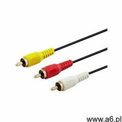 Kabel 3xRCA - 3xRCA SAVIO 2 m - ogłoszenia A6.pl