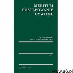 MERITUM Postępowanie cywilne - Elwira Marszałkowska-Krześ - ebook - ogłoszenia A6.pl