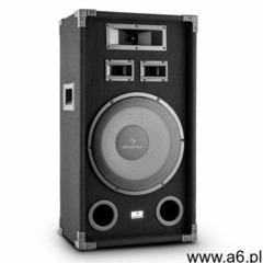 """Auna PA-1200 Fullrange Kolumna nagłośnieniowa 12"""" głośnik niskotonowy 500Wmax. (4260414895609) - ogłoszenia A6.pl"""