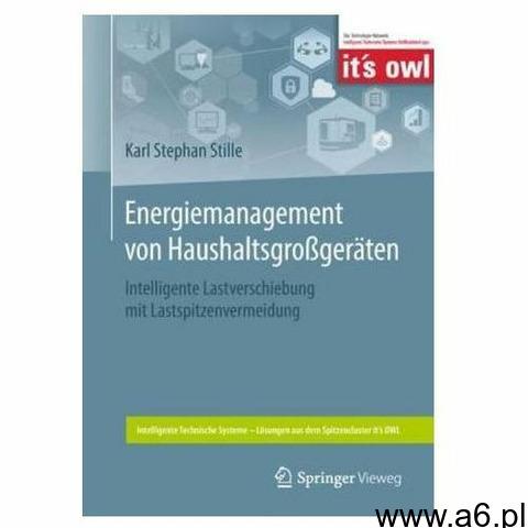 Energiemanagement von Haushaltsgroßgeräten Stille, Karl Stephan (9783662563977) - 1