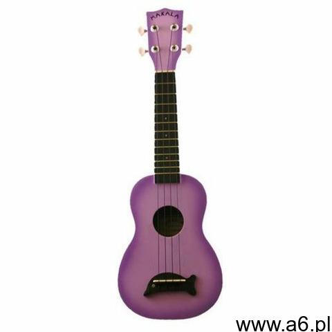 Kala makala ukulele sopranowe purple burst + non woven bag - 1