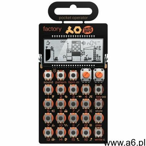 Teenage Engineering Pocket Operator PO-16 factory syntezator brzemień lead/melodii i sekwencer - 1