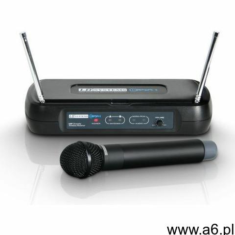 LD Systems WS ECO2 HHD3 mikrofon bezprzewodowy (864.500 MHz) - 1