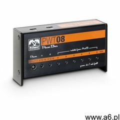 Palmer mi pwt 08 uniwersalny zasilacz sieciowy 9v do pedalboardów, 8 wyjść - ogłoszenia A6.pl