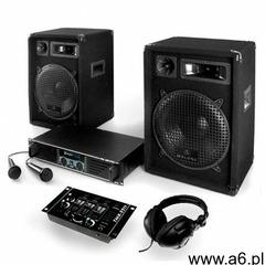 """Electronic-star zestaw dj pa """"bass-boomer-usb"""" 800w wzmacniacze mikrofony - ogłoszenia A6.pl"""