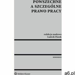 Powszechne a szczególne prawo pracy - Ludwik Florek (9788326486203) - ogłoszenia A6.pl