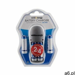 Ładowarka do akumulatorów aa/aaa marki Whitenergy - ogłoszenia A6.pl