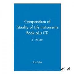 Compendium of Quality of Life Instruments Book plus CD 2 - 10 User (9780471988410) - ogłoszenia A6.pl