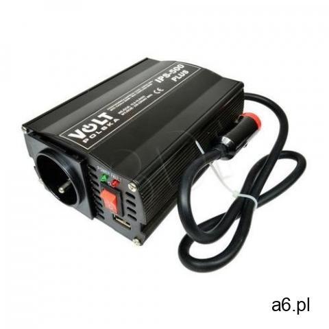 Volt polska Przetwornica volt ips 500 plus 350w 12v/220-240v + 15% rabatu na tańszy produkt! (59 - 1