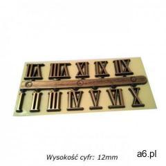 Komplet plastikowych cyfr rzymskich 12mm - ogłoszenia A6.pl