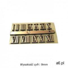 Komplet plastikowych cyfr rzymskich 9mm, CR_09 - ogłoszenia A6.pl