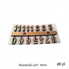 Atrix Komplet plastikowych cyfr arabskich 9mm - ogłoszenia A6.pl