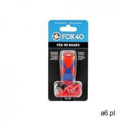 Gwizdek ratowniczy Fox 40 Sharx Safety czerwono-niebieski - ogłoszenia A6.pl