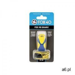 Gwizdek ratowniczy Fox 40 Sharx Safety żółto-niebieski - ogłoszenia A6.pl