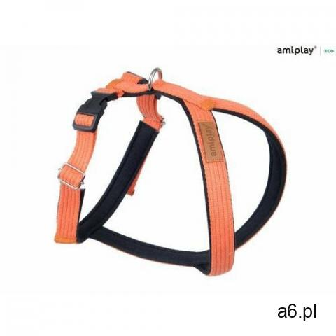 Amiplay szelki regulowane grand soft cotton xl pomarańczowy - 1